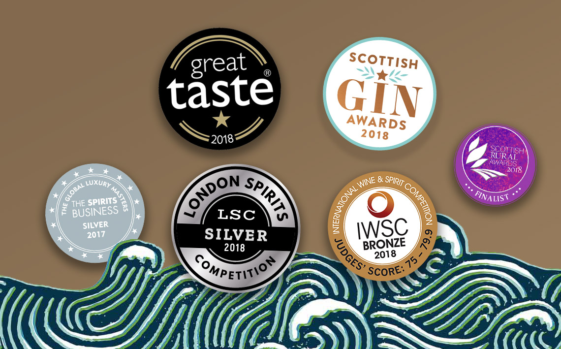 Deerness Distillery awards